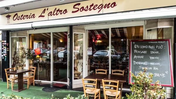 la entrata - L'Altro Sostegno, Rome