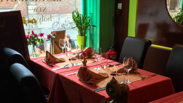 Table dressée - New Holy Cow, Louvain