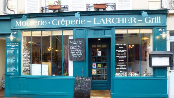 Devanture - Moulerie Larcher, Saint-Germain-en-Laye