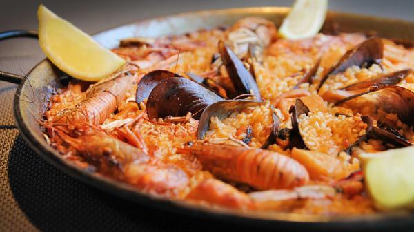 La paella - La Sal, El Almarchal
