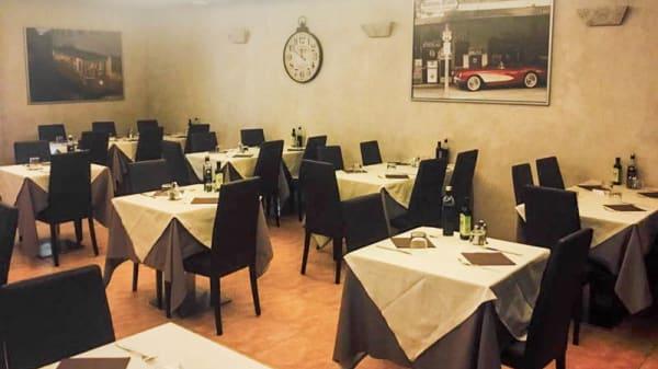 Sala principale - Il Borgo, Milan