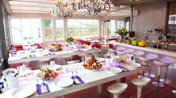 Vue de l'intérieur - Palace Seafood, Knokke-Heist