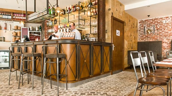 Vue salle - Chez Papa 15, Paris