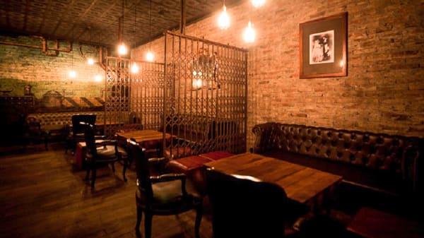 Sala del restaurante - Victoria Brown Bar, Buenos Aires