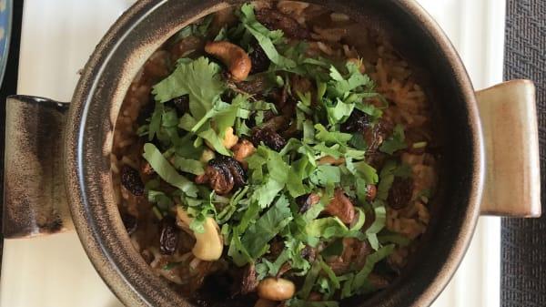 Suggestion du Chef - Moksha Resto-Lounge Indien, Territet