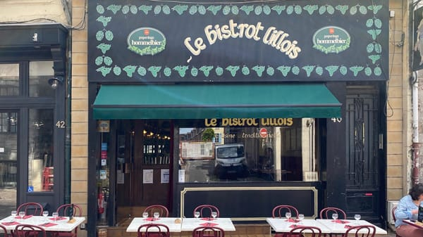 Devanture - Le Bistrot Lillois, Lille
