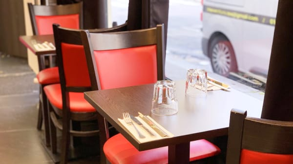 Vue de la salle - Sushi Wok Buzz, Paris
