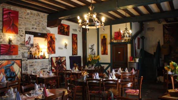 Vue e la salle - La Rôtisserie du Roy Léon, Bayonne
