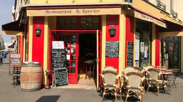Devanture / Façade - Le Laurier, Paris
