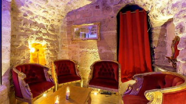Vue de la salle - Diva's kabaret, Paris
