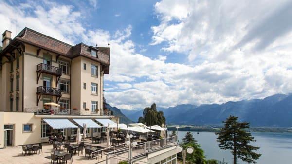 Vue unique - Côté Lac, Montreux