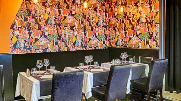 Salle du restaurant - Le M, Levallois-Perret