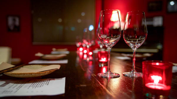 Red Dining Room's view - Jazushi, Surry Hills (NSW)
