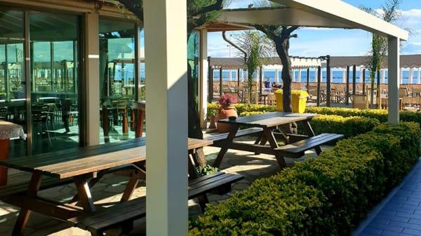 Vista terrazza - Ristorante Bagno Gelosia, Marina di Massa