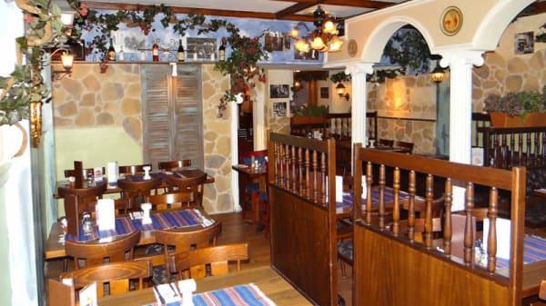 restaurantzaal - Rhodos, IJmuiden