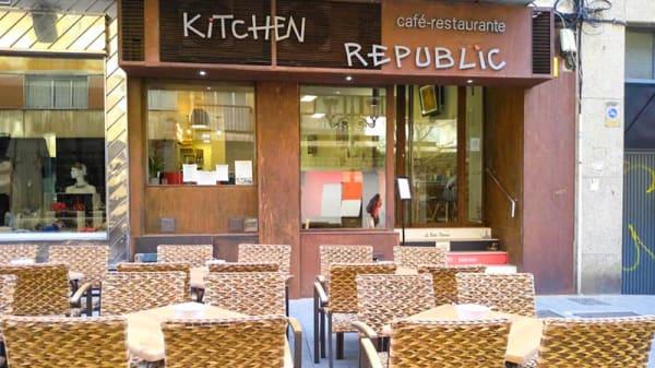 Vista de la sala - Kitchen Republic, Salamanca