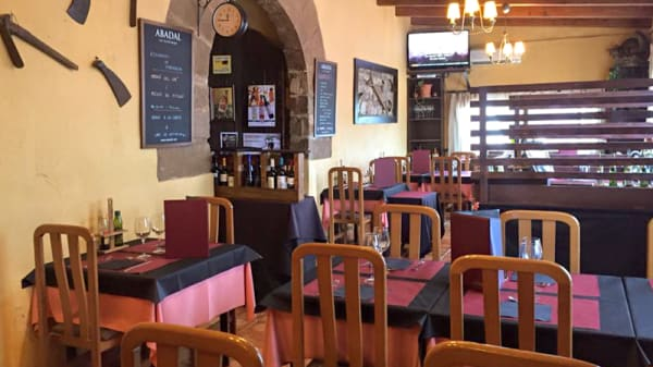 Sala del restaurante - Masia Puigbò, Sallent