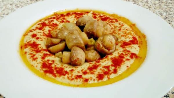 Sugestão do chef - Casa de Hummus, Porto