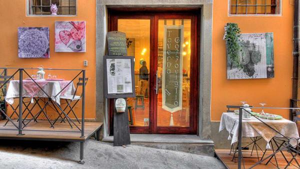 """esterno - Taverna """"Il Gozzoviglio"""", Cortona"""