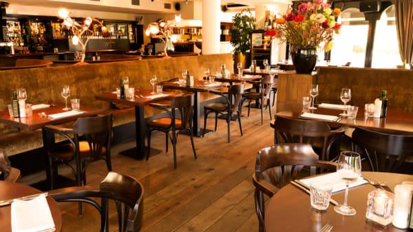 Het restaurant - Hamdorff Eten & Drinken, Laren