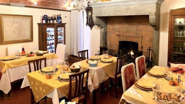 Vista sala - Ristorantino ai 5 Tavoli - Borgo Dolci Colline, Castiglion Fiorentino