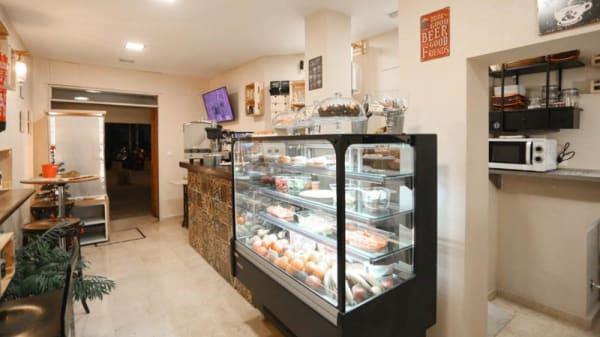 Vista de la sala - Tasty & Healthy, Sevilla