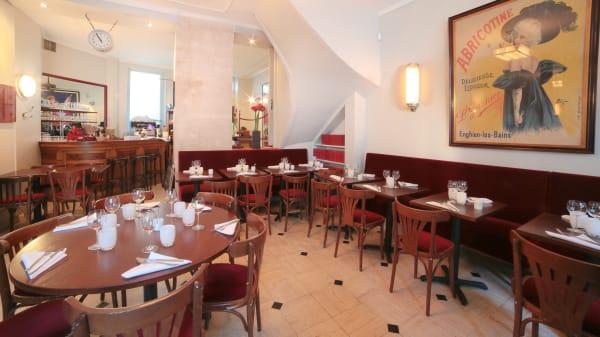 Vue de la salle du restaurant - Le Bistro T, Paris