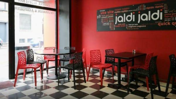 Salle - Jaldi Jaldi by Aux Indes, Lille