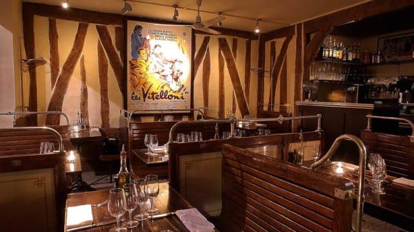 Vue de la salle - Les Vitelloni, Paris