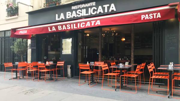 Vue de la terrasse - La Basilicata Alésia, Paris