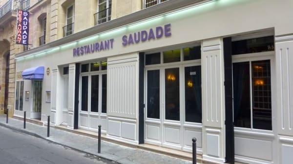 Façade du Restaurant - Saudade, Paris