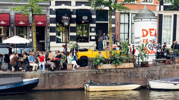 Terrass - Deus Ex Machina Amsterdam, Amsterdam