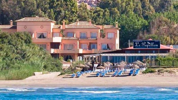 La ubicacion del restaurante - Le Papillon Beach Club, Marbella