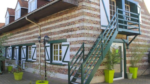 L'âme au vert - L'Âme au Vert - Restaurant du Hameau de la Becque, Avelin