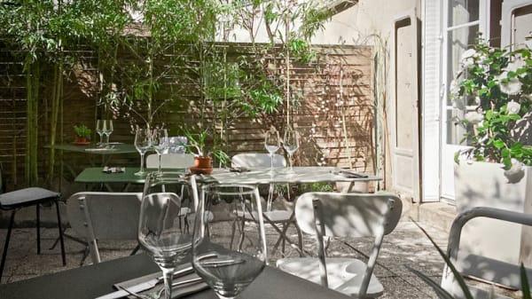 La terrasse - Les Fines Herbes, Saint-Cloud
