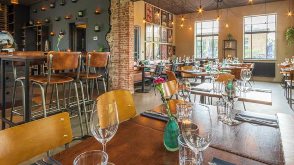 Het restaurant - Restaurant Glaswerk, The Hague