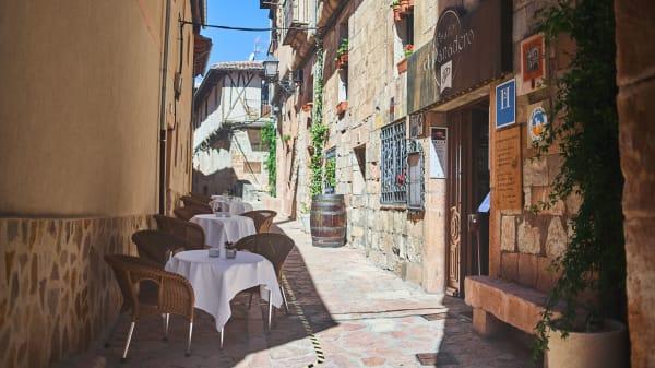 Entrada - Restaurante Asador El Panadero, Sepulveda