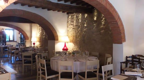 Vista della sala - Ristorante le Torri Monteriggioni, Monteriggioni