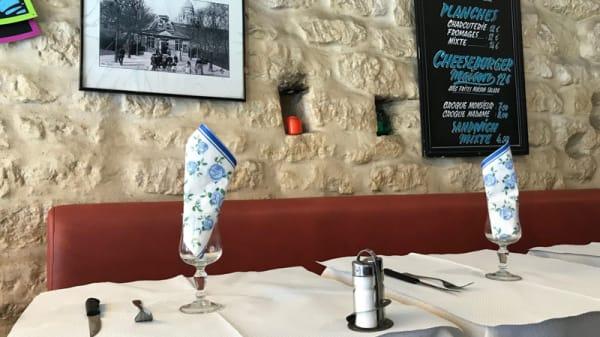 Vue de la salle - Bar de l´Ourcq, Paris
