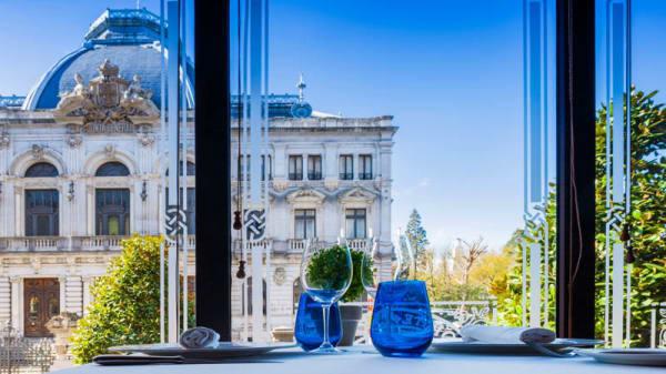 Vista sala - La Corte de Pelayo, Oviedo
