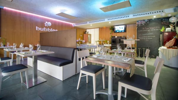 Vista del Restaurant - Bubbles Gastrobar, Gerona