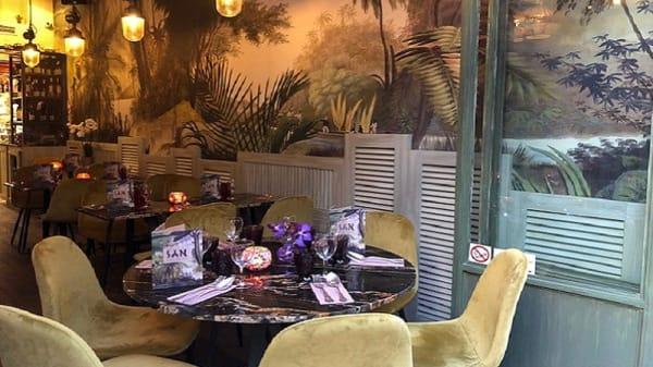 La table selon San Thaï - San Thaï, Paris