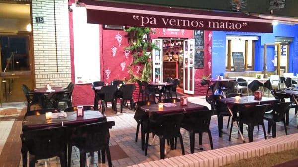 Terraza - Vinums, Málaga