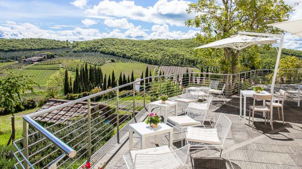 La terrazza panoramica - Casa Chianti Classico, Radda In Chianti