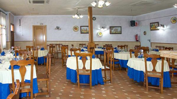 Sala del restaurante - Hotel Restaurante Mr, Barajas De Melo