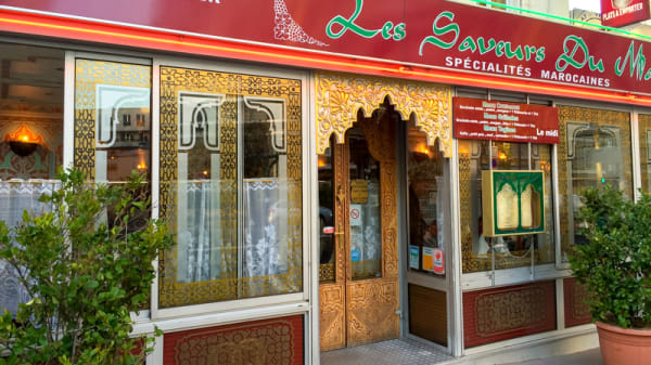 Devanture - Les Saveurs du Maroc, Boulogne-Billancourt