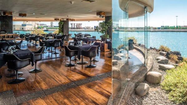 Cristalera comedor - Restaurante Castillo de San José, Arrecife