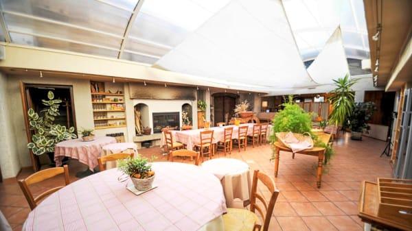 Salle du restaurant - Auberge d'Anthy, Anthy-sur-Léman