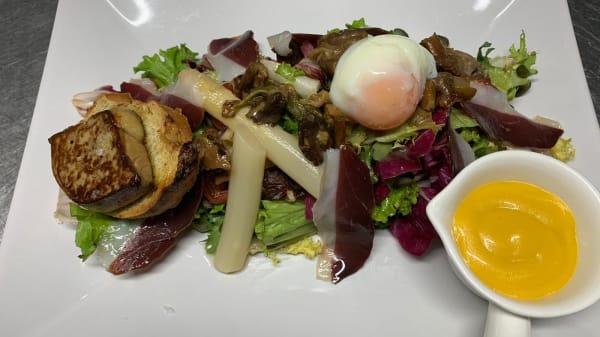 Especialidad del chef - Restaurante Le Penon, El Medano