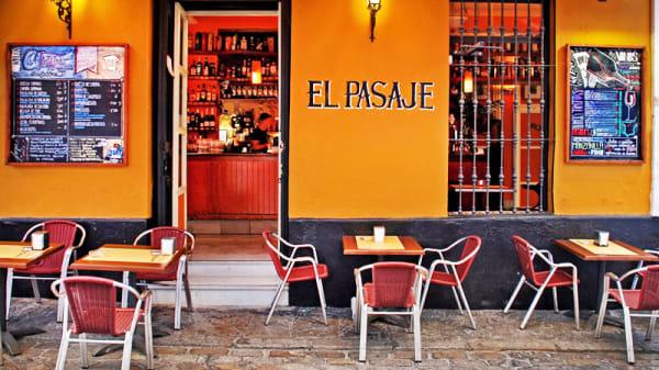 Vista terraza - El Pasaje, Sevilla